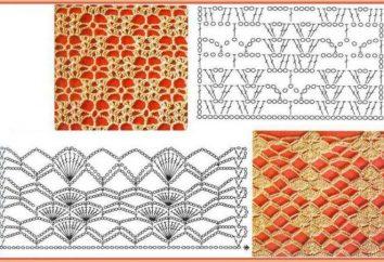 Jak na drutach ażurowy wzór szydełka: Program, zdjęcia, wskazówki