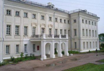 région de Kalouga, Lin usine: manoir Goncharov et le village avec un nom inhabituel