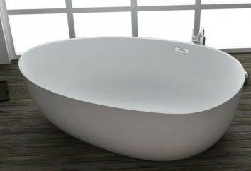 baignoire ovale: les principales variétés et avantages