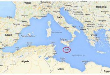 A população de Malta: o número ea composição étnica