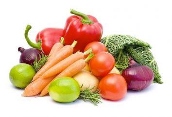 Ces différents légumes: la liste des légumes non féculents et féculents