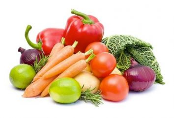 Queste diverse verdure: l'elenco delle verdure non amidacee e amidacei