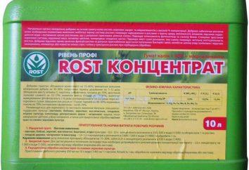 Mode d'emploi « Croissance concentré »: les avantages et l'impact sur les plantes de façon