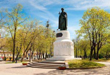 Denkmal für Prinzessin Olga, Pskow: Geschichte, Fotos