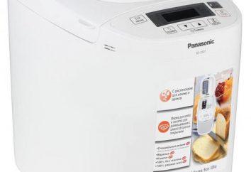 Breadmaker Panasonic SD-2511WTS: descripción, comentarios