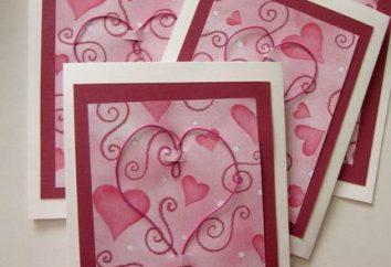 San Valentino: un regalo con le proprie mani. Che per dare il favorito a San Valentino?
