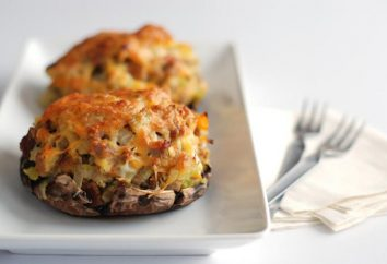 Come cucinare carne con funghi e formaggio al forno