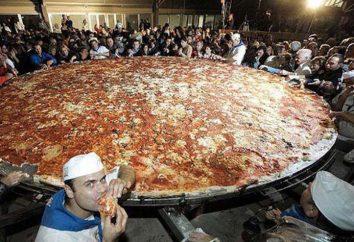 pizza più grande del mondo: quanto pesa e dove è stato fatto?