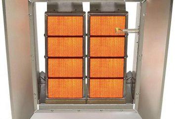 Calorifero infrarosso a gas dal cilindro: il principio di funzionamento, caratteristiche, prezzi e le recensioni