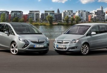 "Minivans ""Opel Zafira"""