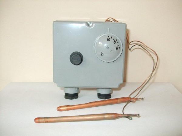 Was ist der Unterschied Thermostat für den Kessel, und was ist es?
