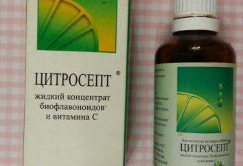 """""""Tsitrosept"""": análogos, instruções de utilização, comentários. Melhor substituto """"Tsitrosepta"""": comentários de médicos"""
