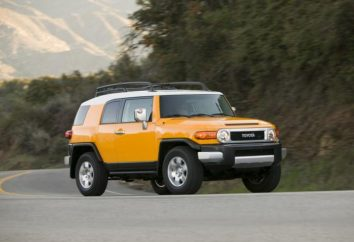 "Przegląd modelu ""Toyota FJ Cruiser»"