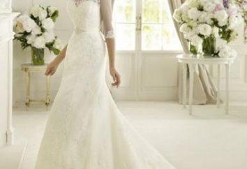 Was soll das Kleid für eine Hochzeit in einer Kirche sein?