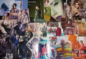 Kolaż czasopism: wystrój i wizualizacja