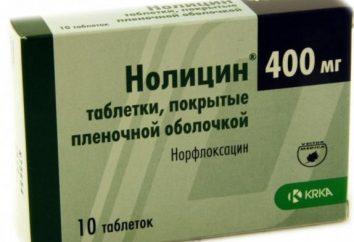 """""""Nolitsin"""" – antybiotyk czy nie? Tabletki """"nolitsin"""" od czego?"""