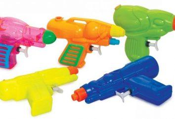 Pistolety wodne i inne zabawki do kąpieli niemowląt