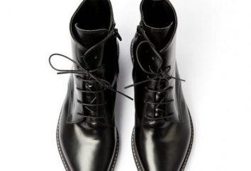Męskie i damskie buty pointy: opis, model i zalecenia