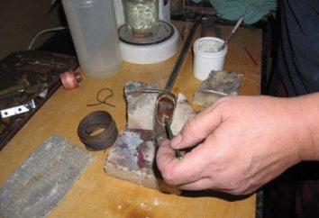 Was ist Silberlot? Eigenschaften und Fotos