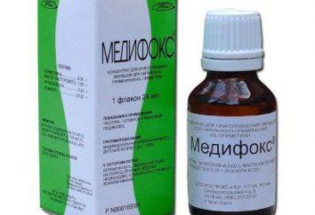 """Recenzje: """"Medifoks"""". Opis, skład i instrukcje do stosowania leku"""