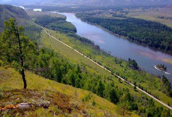 Là où le fleuve se jette dans la Ienisseï? Dans une mer rivière coule dans le Ienisseï?