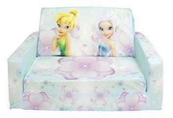 Porady dla rodziców: jak wybrać sofy dziecięce dla dziewczynek?