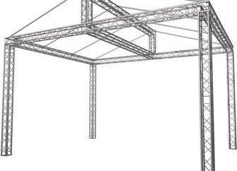 Giebeldachbindersystem mit ihren eigenen Händen. Zeichnung und Dachsystemdesign