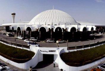 Sharjah lotniska, gdzie znajduje się, usługi, jak dostać się do miasta