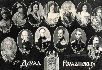 Romanov dinastía: el reino. Todos los zares de la dinastía Romanov