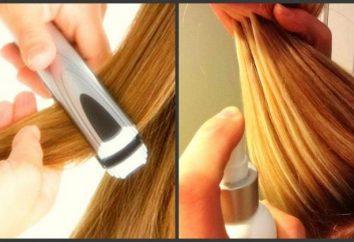 Como enrolar o cabelo com um ferro de ondulação ou engomar?