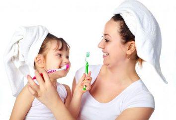 Quando uma criança começar a escovar os dentes e como ensiná-lo?