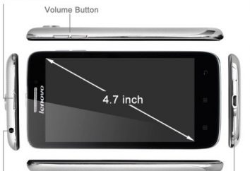 "Smartphone ""Lenovo C650"": charakterystyka, konfiguracja, recenzje baterię. Lenovo S650"