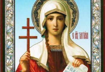 St. Tatiana. Święty Męczennik Tatiana