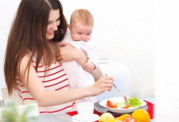 Régime alimentaire pour l'allaitement pour la perte de poids sans nuire à la santé de l'enfant