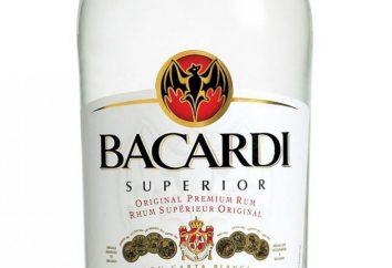 """Weißer Rum """"Bacardi Superior"""". Cocktails mit """"Bacardi Superior"""""""