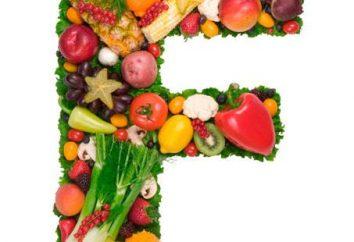 La vitamine F, son rôle et son importance. Quels aliments contiennent de la vitamine F