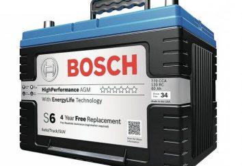 AGM-bateria: características e benefícios