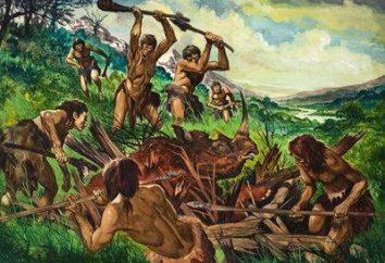 Aktywność ludzi prymitywnych, co pozwoliło na produkcję mięsa żywności – polowania i rybołówstwa
