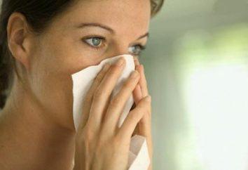 Rinite: sintomi e trattamento di diversi tipi di malattie