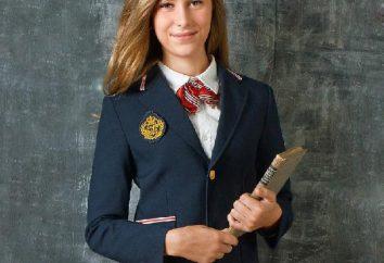 Schulkleid für Gymnasiasten: Modetrends. Mit was eine Schuluniform zu tragen?