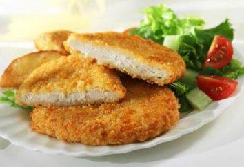 Pierś z kurczaka w panierce: kilka kuszących recepty