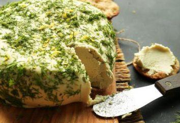fromage Végétarien: sa composition et sa recette