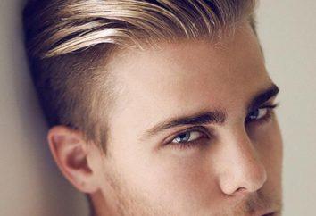 Brytyjczyk – mężczyźni fryzura. Jak wyciąć ktoś nadaje, zdjęcia