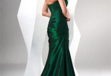 Stiamo studiando una nuova tendenza fresca: un vestito verde sul pavimento