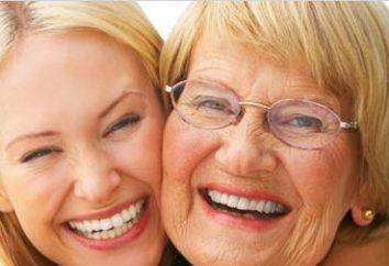 Proteza działają przednie zęby