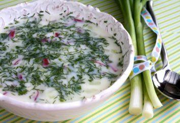 Zimne zupy. Letnie zupy recepty