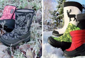"""Boots """"Cuomo"""": Carta del tamaño, comentarios"""