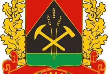 Lo stemma della zona Kemerovo: la descrizione ed il valore