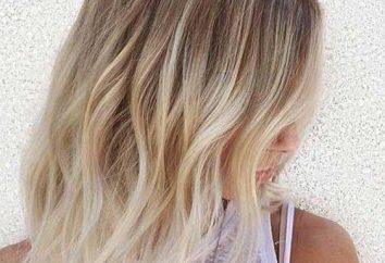 """Kaplica na blond włosach: fotografia """"przed"""" i """"po"""""""