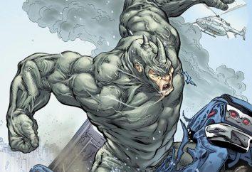Rhinocéros ( « Marvel »): l'origine, la capacité et le caractère ennemis